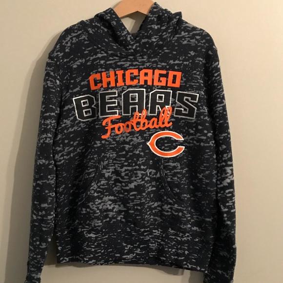 Hot NFL Shirts & Tops | Girls Chicago Bears Hoodie Large 1012 | Poshmark